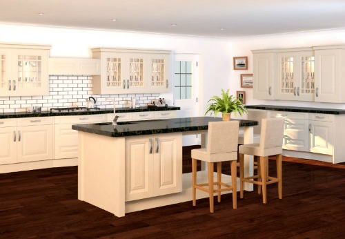 Glebe painted alabaster lead runner colour
