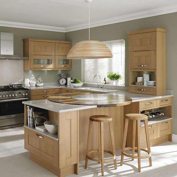Chesterfield solid wood kitchen doors