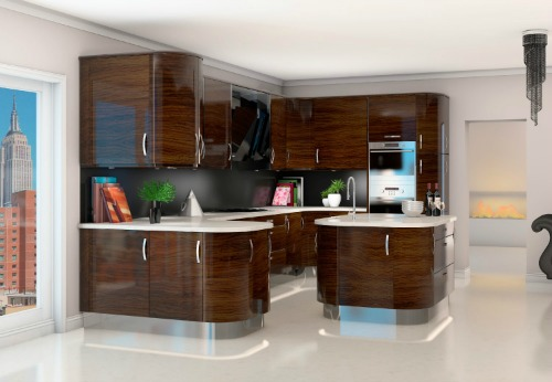 Urbani high gloss dark olive