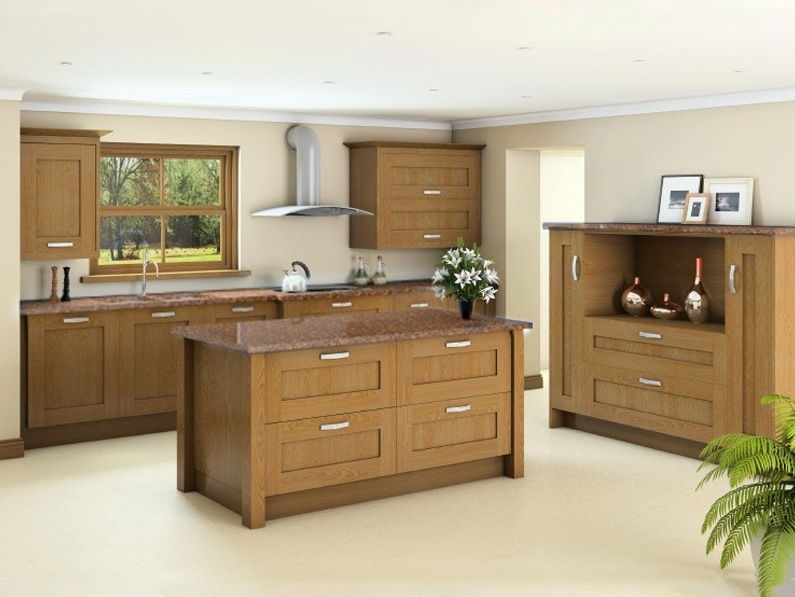 Shaker Oak solid wood